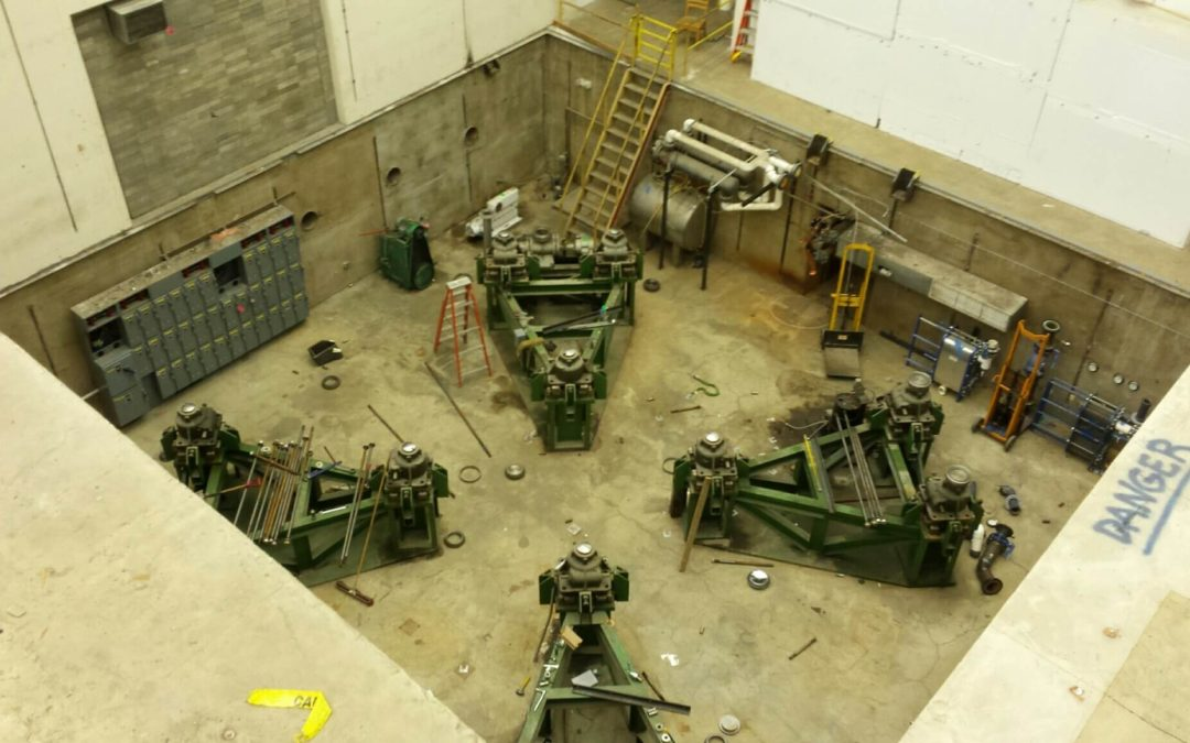 Indiana University – Proton Therapy Center Radioactive Component Removal