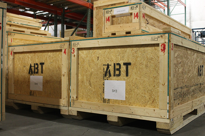 Considerations with Crating for International Shipping