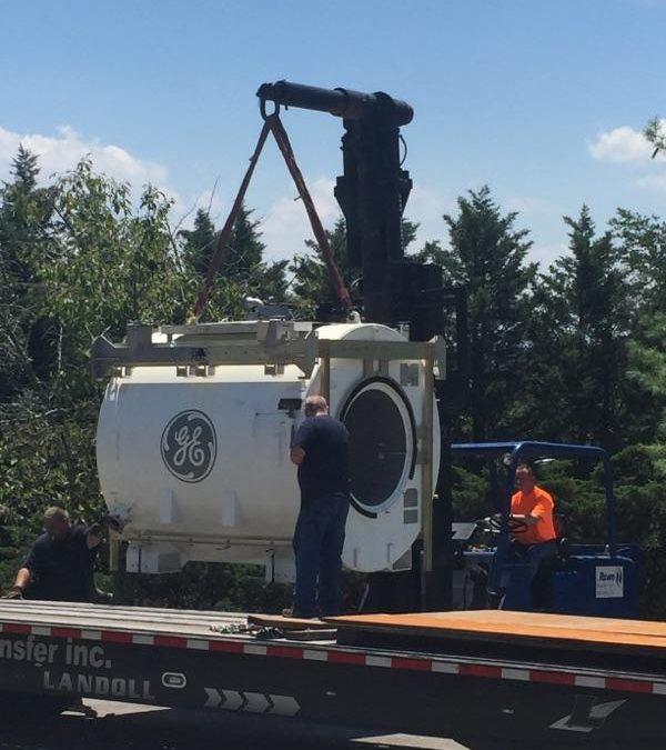 Rowe Transfer, Inc. moving GE MRI