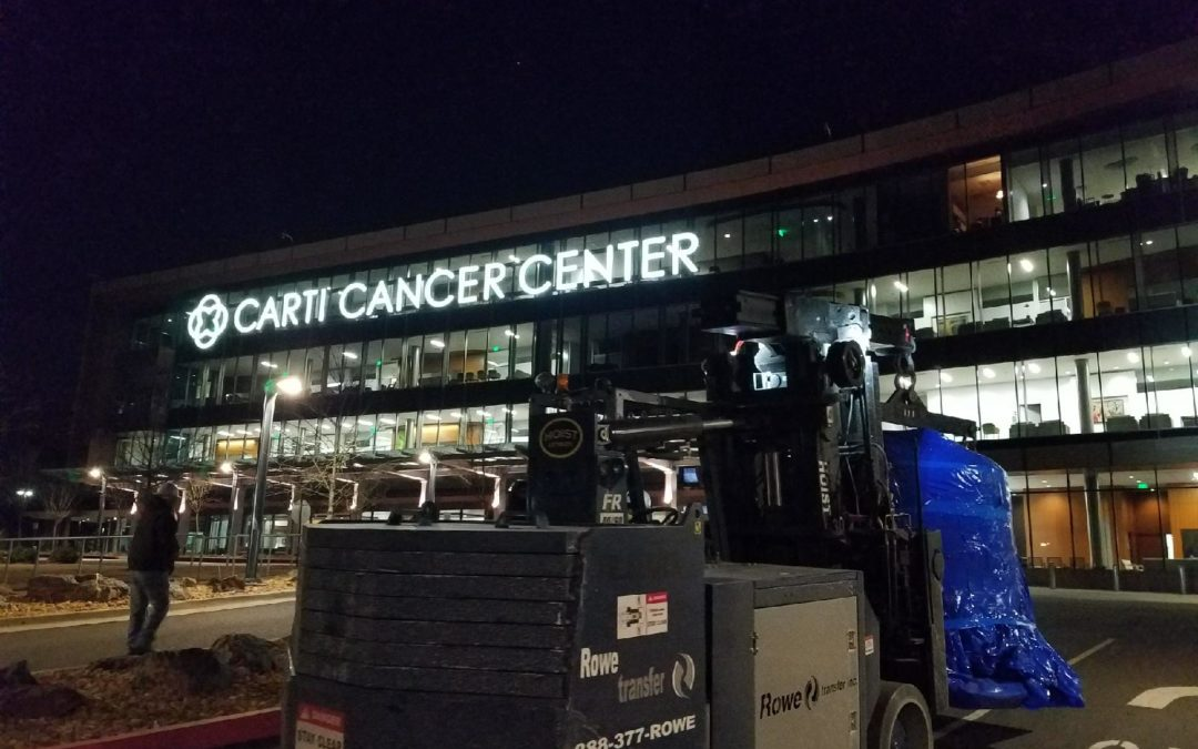Image of Rowe Transfer, Inc. outside of Carti Cancer Center