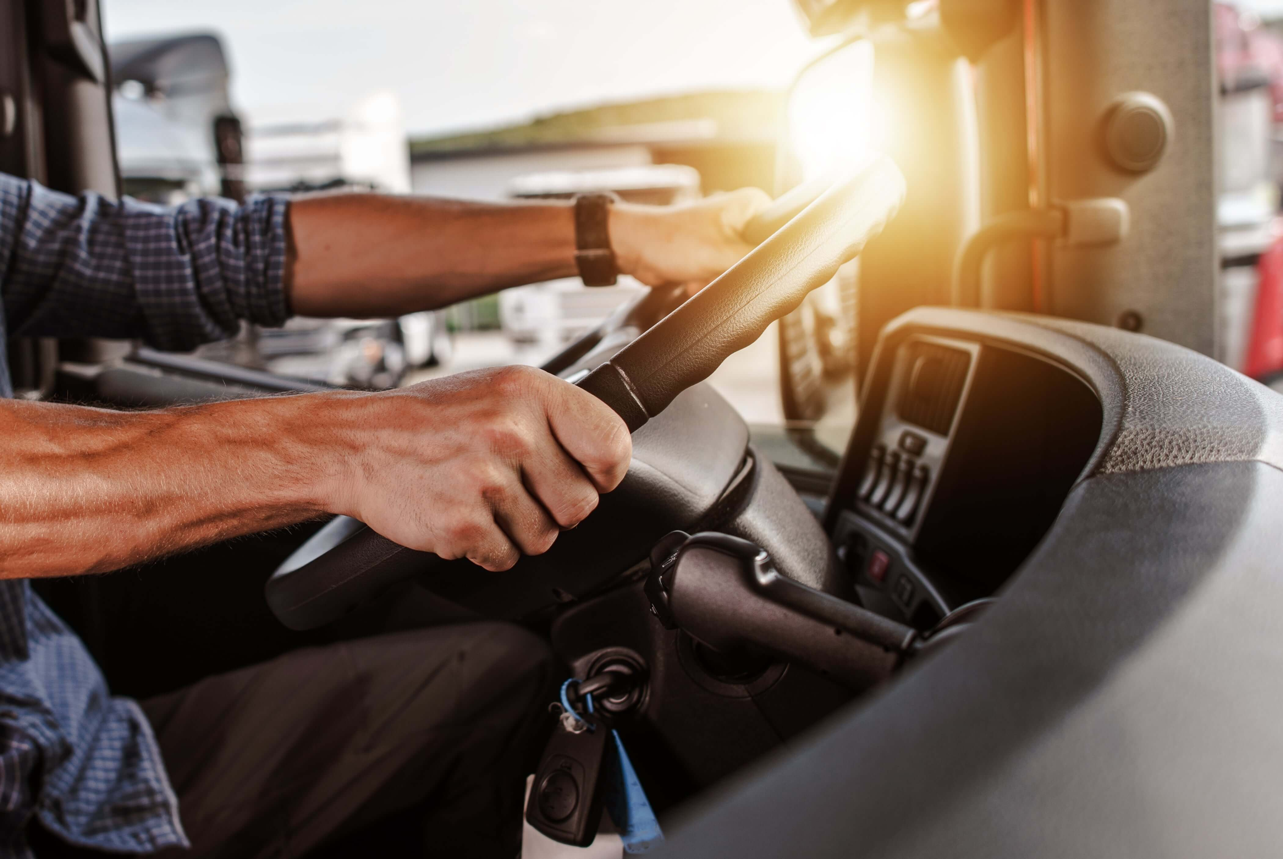 Dedicated truck drivers typically run the same routes regularly