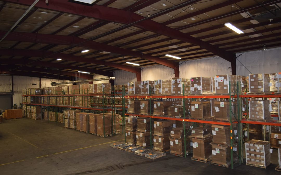 East Tennessee rigging, crating, and warehousing company's warehouse