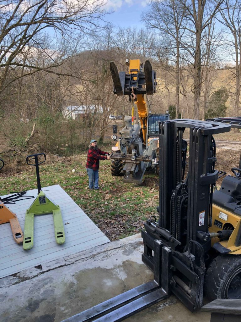 Rowe Transfer rigging in south knoxville, TN