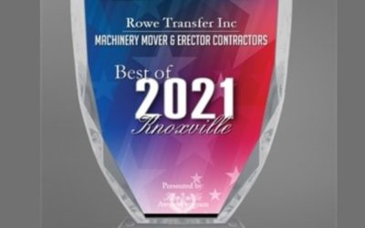Rowe Transfer Inc Receives 2021 Best of Knoxville Award